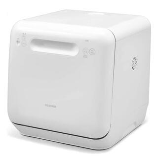 アイリスオーヤマ(アイリスオーヤマ)の【大特価・美品】IRIS 食器洗い乾燥機 工事不要 ISHT-5000-W(食器洗い機/乾燥機)