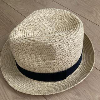 グローバルワーク(GLOBAL WORK)のグローバルワーク 子供 中折れハット 帽子 麦わら帽子(帽子)