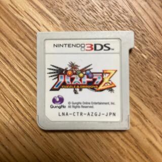 【3DSソフト・中古】パズドラZ(携帯用ゲームソフト)