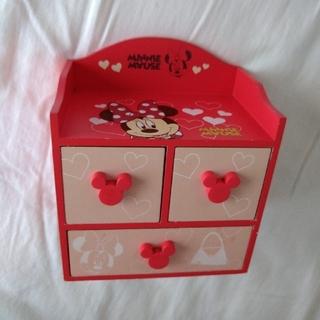 Disney - ミニーマウス 小物入れ