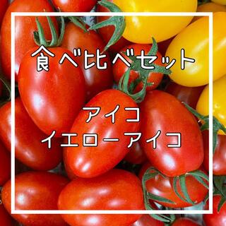 食べ比べセット‼️ミニトマトアイコ‼️(野菜)