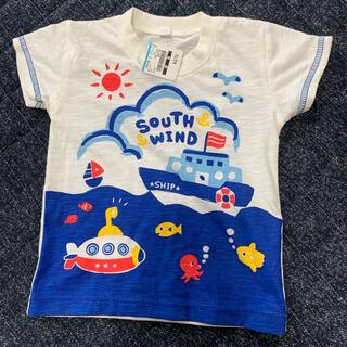 ニシマツヤ(西松屋)の西松屋新品タグ付きTシャツ80(Tシャツ)