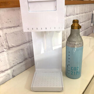 ソーダミニ soda mini 本体 炭酸メーカー 空カートリッジ(その他)