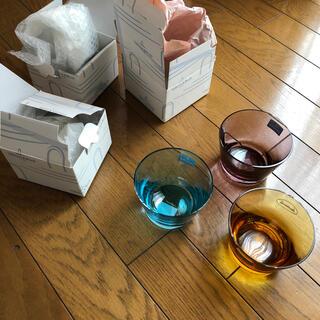 ビレロイ&ボッホ - ビレロイアンドボッホ カラーコンセプト ガラスボウル ブルー アンバ 3個セット