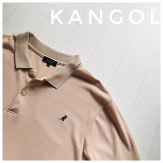 カンゴール(KANGOL)の人気!KANGOL カンゴール オーバーサイズ ワンポイント刺繍ポロシャツ(ポロシャツ)