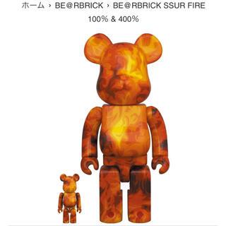 メディコムトイ(MEDICOM TOY)のBearbrick SSUR FIRE 100% & 400%(その他)