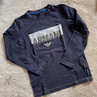 アルマーニ ジュニア(ARMANI JUNIOR)のアルマーニ ジュニア ロンT 6A(Tシャツ/カットソー)