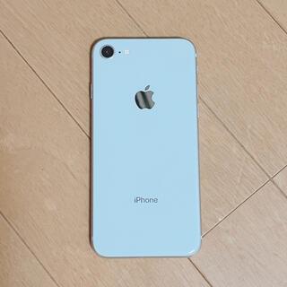 アップル(Apple)のペロ様専用 iPhone8 256G シルバー(スマートフォン本体)