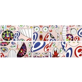 村上隆氏エディション・サイン入り四角オレたちひょうきん族10枚セットカイカイキキ(印刷物)