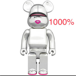 メディコムトイ(MEDICOM TOY)のBE@RBRICK SORAYAMA 2G SILVER Ver 1000%(その他)