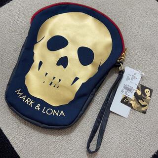 マークアンドロナ(MARK&LONA)の新品!マークアンドロナ スカル バッグ カートバッグ ゴルフウェア アクセサリー(バッグ)