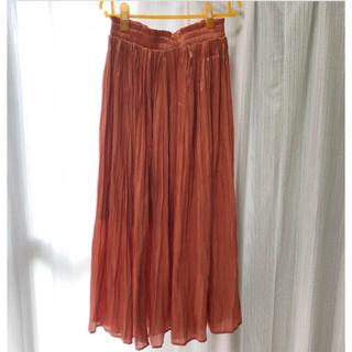 エムズエキサイト(EMSEXCITE)のプリーツスカート ロングスカート チュールスカート(ロングスカート)