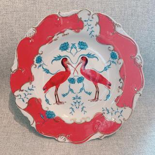 アンソロポロジー(Anthropologie)のアンソロポロジー デザートプレート スカーレット(食器)