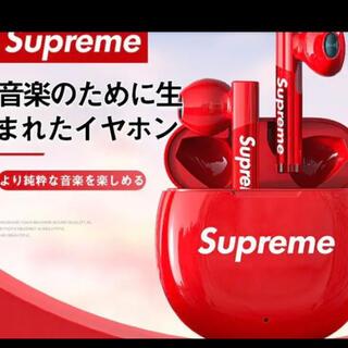 シュプリーム(Supreme)のsupreme イヤホン 新品(ヘッドフォン/イヤフォン)