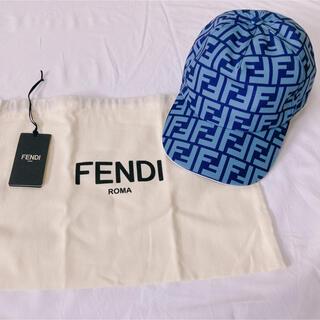 フェンディ(FENDI)のFENDI  フェンディ FFロゴキャップ(キャップ)