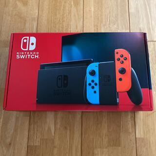 ニンテンドースイッチ(Nintendo Switch)の任天堂スイッチ バッテリー強化版 ネオンカラー(家庭用ゲーム機本体)