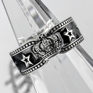 ジャスティンデイビス(Justin Davis)の超美品!ジャスティンデイビス srj811 BLACK STAR リング(リング(指輪))