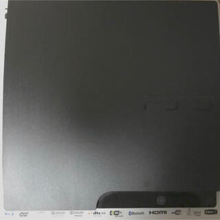 プレイステーション3(PlayStation3)のプレイステーション3 本体 160GB チャコールブラック 付属品欠品無し(家庭用ゲーム機本体)
