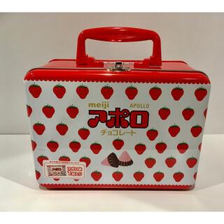 明治 - 【非売品】 アポロ チョコレート トランク缶