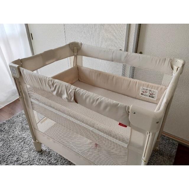 Aprica(アップリカ)のアップリカ ココネルAir キッズ/ベビー/マタニティの寝具/家具(ベビーベッド)の商品写真