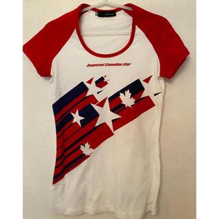 ディースクエアード(DSQUARED2)のDSQUARED レディースTシャツ(Tシャツ(半袖/袖なし))