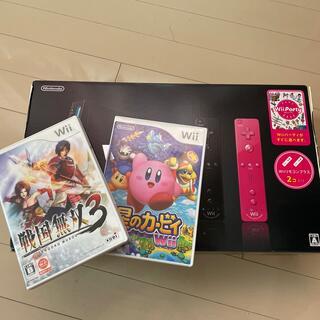 ウィー(Wii)のWiiとソフトセット✩送料込✩ Nintendo Wii本体、ソフト2本付(家庭用ゲーム機本体)