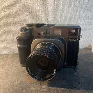 マミヤ(USTMamiya)のMamiya7+80mmレンズ(フィルムカメラ)