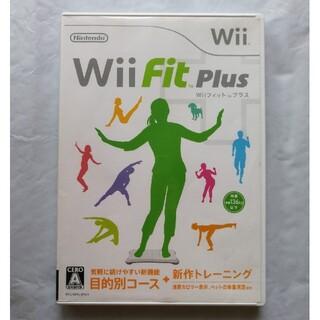 ウィー(Wii)のWii Fit Plus ディスク ケース 説明書(家庭用ゲームソフト)
