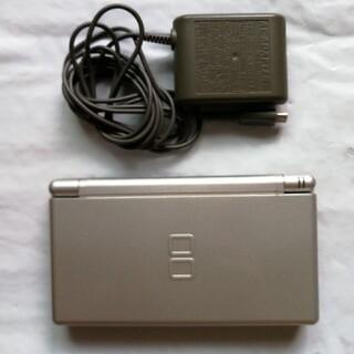 ニンテンドーDS(ニンテンドーDS)のニンテンドー DS Lite シルバー 本体 充電器セット(携帯用ゲーム機本体)