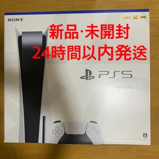 プレイステーション(PlayStation)の【新品】プレイステーション5 PS5 送料込(家庭用ゲーム機本体)