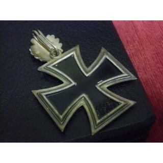 ドイツ軍*925銀製*1939柏葉付き騎士鉄十字勲章(COPY/複製品)(その他)