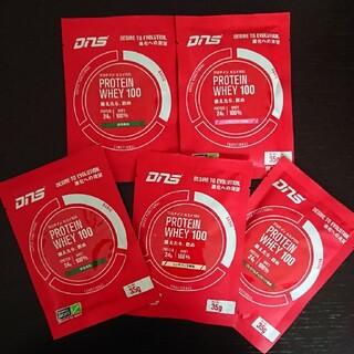 ディーエヌエス(DNS)のDNSプロテイン ホエイ100 35g×5個 小袋 抹茶バニラチョコイチゴ(プロテイン)