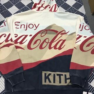 KITH X COCA-COLA MOUNTAINS HOODIEパーカー(パーカー)