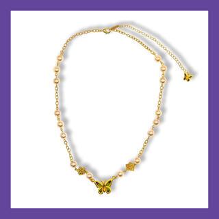 ピースマイナスワン(PEACEMINUSONE)のSTUGAZI Champagne Angle Necklace (ネックレス)