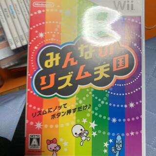 wii みんなのリズム天国(家庭用ゲームソフト)