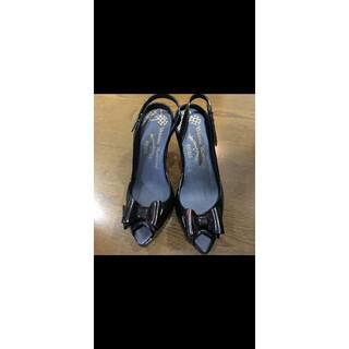 ヴィヴィアンウエストウッド(Vivienne Westwood)のヴィヴィアンウエストウッド メリッサ リボン 靴 サンダル ピアス バッグ(サンダル)