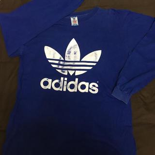 アディダス(adidas)のadidas 古着 ロングTシャツ (Tシャツ(長袖/七分))