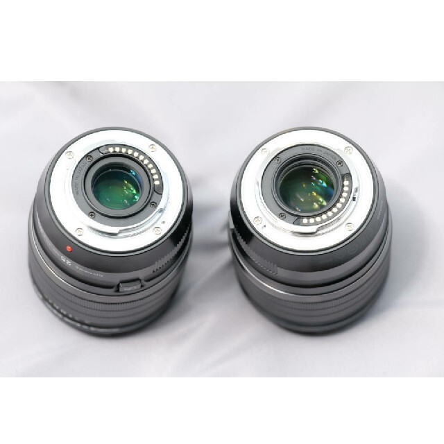 OLYMPUS(オリンパス)の最終価格!新品同OLYMPUS DIGITAL ED25&45 F1.2 PRO スマホ/家電/カメラのカメラ(レンズ(単焦点))の商品写真