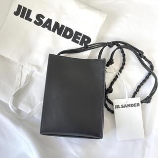 ジルサンダー(Jil Sander)の■ JIL SANDER ロゴ タングル カーフレザー スモール ■(ショルダーバッグ)