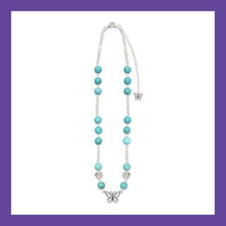 ピースマイナスワン(PEACEMINUSONE)のSTUGAZI Turquoise Angel Necklace (ネックレス)