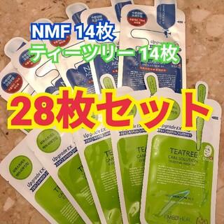 メディヒール ティーツリー NMF パック 28枚セット(パック/フェイスマスク)