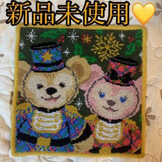 ダッフィー(ダッフィー)の新品未使用♡ダッフィー シェリーメイくるみ割り人形ハンカチ ハンドタオル(キャラクターグッズ)