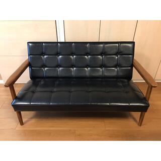 カリモクカグ(カリモク家具)の【お値下げ】カリモク60 Kチェア 2シーター(お引き取り限定)(二人掛けソファ)