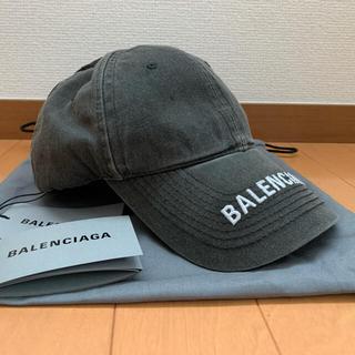 Balenciaga - BALENCIAGA キャップ ユニセックス ダメージ加工 入手困難