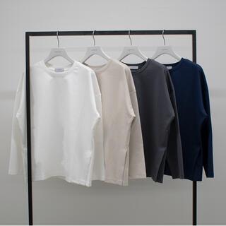 ドゥーズィエムクラス(DEUXIEME CLASSE)のmodern チャコールグレー(Tシャツ(長袖/七分))