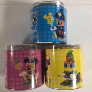 ディズニー(Disney)のディズニーシー 10周年 ナノブロック ミッキー ミニー ドナルド(その他)