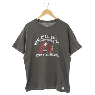 ベドウィン(BEDWIN)のベドウィン BEDWIN Tシャツ 半袖 プリント グレー /MF ■GY(Tシャツ/カットソー(半袖/袖なし))
