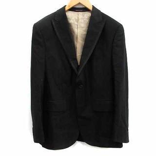 クリスチャンオジャール(CHRISTIAN AUJARD)のクリスチャンオジャール テーラードジャケット 羊毛 ウール 絹 100 L 黒(テーラードジャケット)