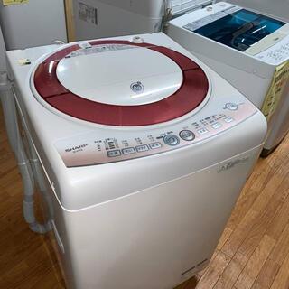 SHARP - (洗浄・検査済み)SHARP 洗濯機 7.0kg 2012年製