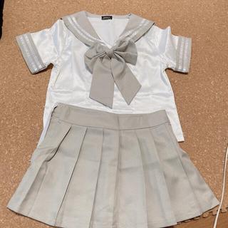 セーラー服 コスプレ グレー(衣装一式)
